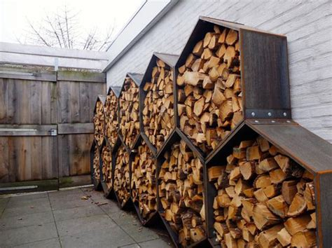 Storing Firewood In Garage by 20 Excellent Diy Outdoor Firewood Storage Ideas Home