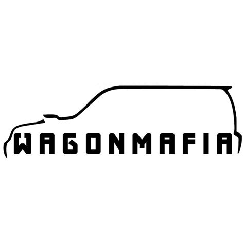 forester decal 17 8cm 5 2cm forester wagon mafia decal sticker jdm car