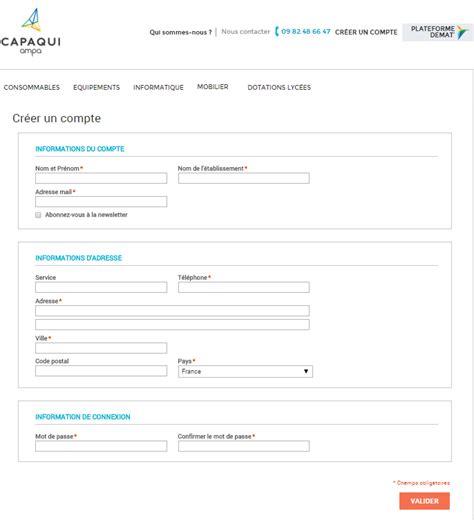ampa capaqui identifiant client