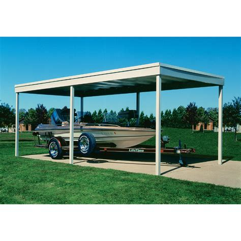 Galvanized Carport arrow arrow freestanding carport patio cover 10x20 dipped galvanized steel with vinyl