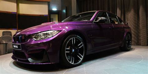 unique car colors really unique twilight purple bmw m3 from abu dhabi