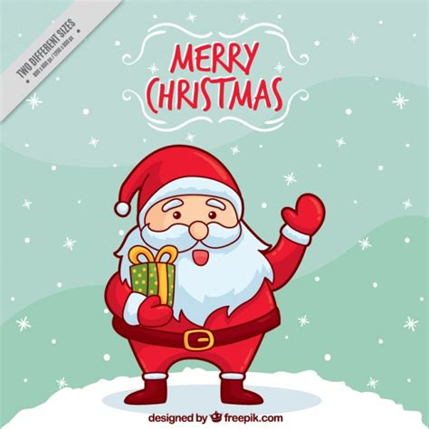 santa claus for background of santa claus greeting vector