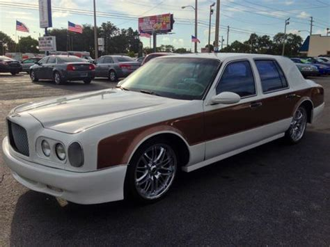 bentley arnage custom find used bentley arnage conversion custom car