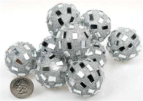 Silver Decorative Balls by Silver Mirrored Disco Balls Fillers Vase And Bowl