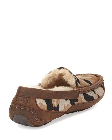 ugg camo slippers ugg camo ascot slipper green