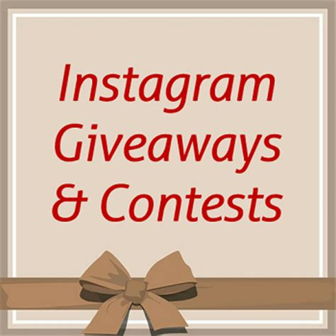 Instagram Sweepstakes - 5 instagram giveaway tips