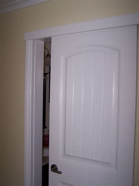 Wall mount sliding door to create more space in bathroom or small room home sweet home