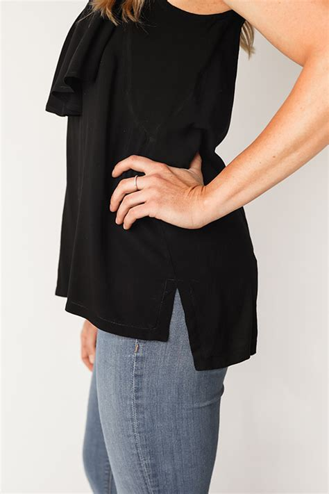 Farah Blouse by Farrah Blouse Dress Chalk And Notch