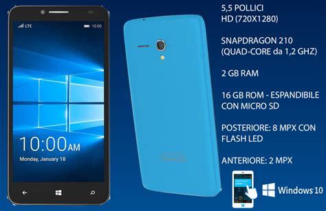 Hp Alcatel Fierce Xl windows 10 mobile si diffonde presentati nuovi prodotti