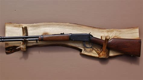 Rifle Display Rack by Gun Display Rack A 74 Aspen Backing With By