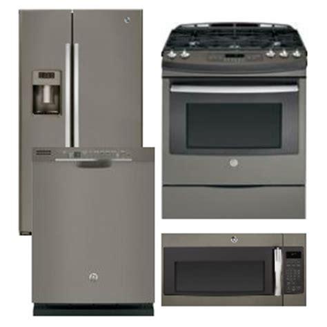 Package 39 Ge Appliance Package 4 Appliance Package Includes Free Microwave Slate