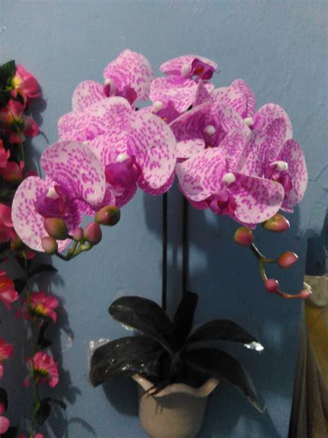Jual Bibit Anggrek Import jual bunga anggrek bulan artificial murah kuwalitas import bahan bagus baru pajangan hiasan