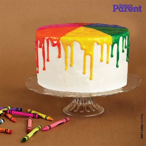 Auto Auf Kuchen Malen by Kids Birthday Cake Ideas Paint Drip Today S Parent