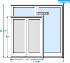 Standard Patio Door Dimensions Contemporary Sliding Patio Doors Pella Pella