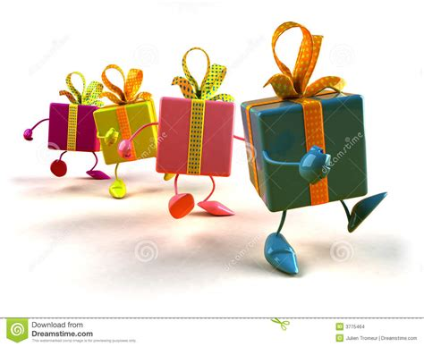 photo gifts gifts walking stock illustration image of decoration