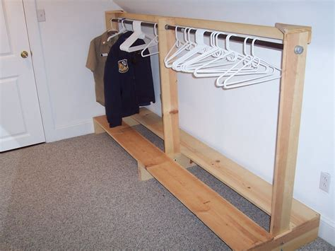 How To Build A Clothes Rack by Clothes Rack By Stuk4x4 Lumberjocks Woodworking