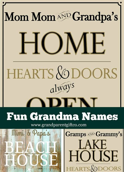 Creative Grandma Giveaway - grandma names today creative and funthe orange slice