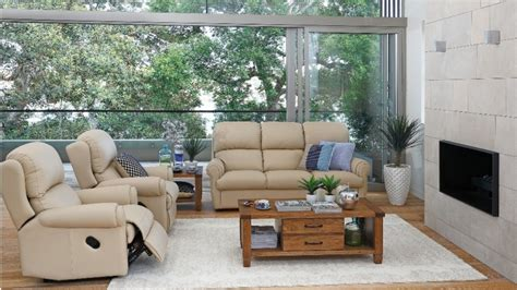 living room furniture australia seabrook 3 leather recliner lounge suite recliner lounges living room furniture