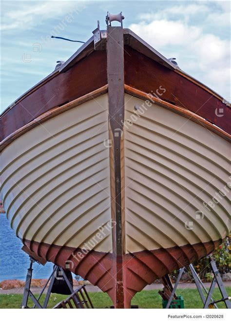 prow of a boat prow of a wooden yacht boat picture