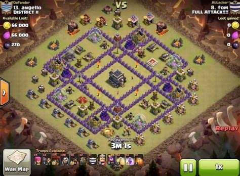 best clash of clans defence 7 hd image clash of clans defense base on town hall 9 unbeatable