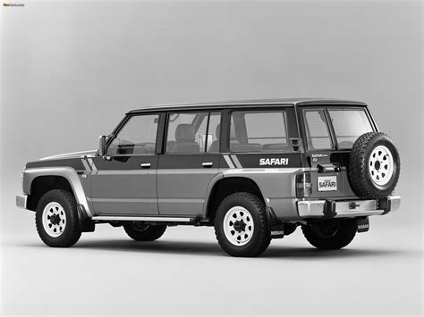 nissan safari off road nissan safari 1987