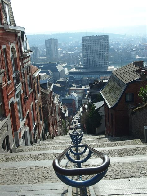liege tourism liege belgium the view above those stairs been there