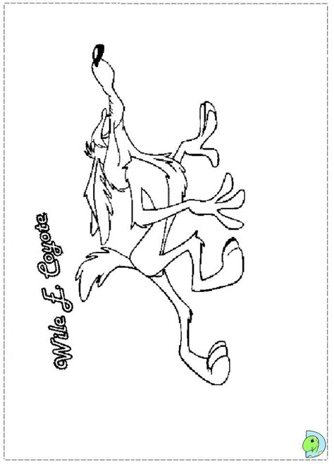 Wile E Coyote Coloring Pages Coloring Home Wile E Coyote Coloring Pages
