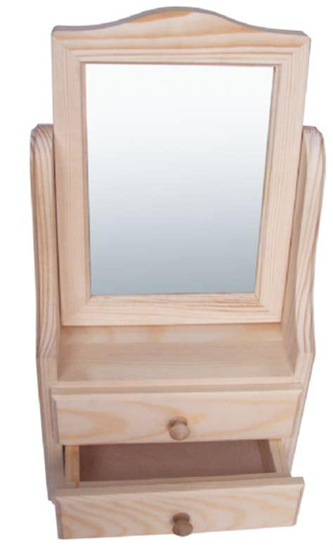 pine wood dresser with mirror pine wood dresser unit with tilting mirror 2 drawers