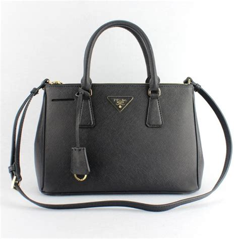 prada saffiano 1801 prada galleria bag 1801 saffiano leather 30cm black 1801