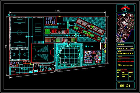 Auto Shop Floor Plans educational autocad projects projects dwg free dwg
