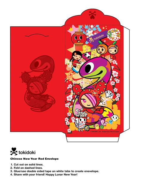 new year crafts envelope template panda year of the snake amigurumi and crafts