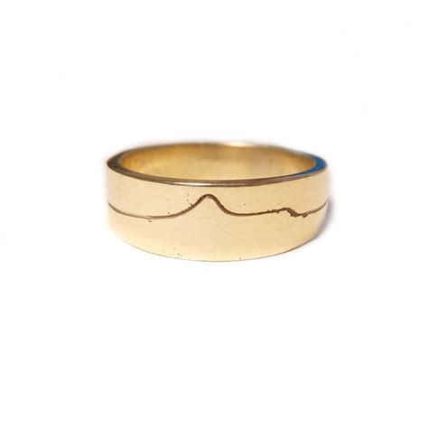 Gold Ring Design by Mt Taranaki 9ct Gold Ring Design Ringcraft Moana