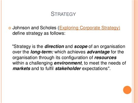 Mba Strategic Leadership by 2nd Mba Strategic Management