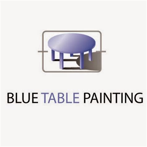 Blue Table Painting by Blue Table Painting