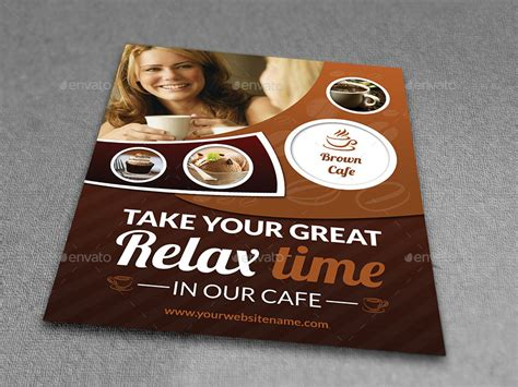cafe flyer template cafe restaurant flyer template vol 3 by owpictures