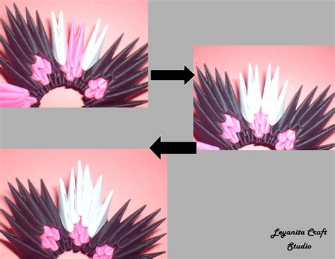 3d origami flower basket tutorial tutorial flower basket 3d origami leyanita craft studio