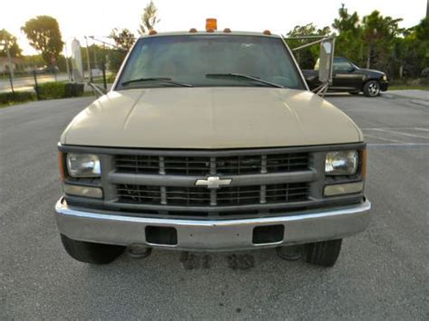 how to sell used cars 1997 gmc 2500 club coupe electronic throttle control sell used 1997 chevy gmc 3500 2500 4x4 turbo diesel 12 flatbed utility service truck in