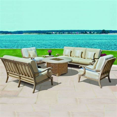 leisure living outdoor furniture nantucket seating by cast classics family leisure