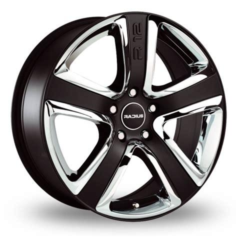 Alloy Sports radius r12 sport black alloy wheels wheelbase