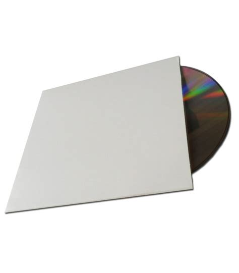 format cd pochette pochette carton blanche sans impression pour vos disques cd