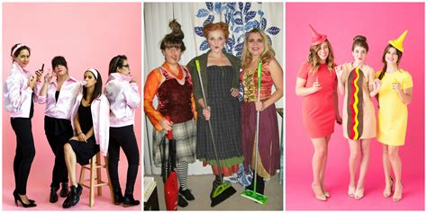 cute themes for groups 10 cute group halloween costume ideas easy diy friend