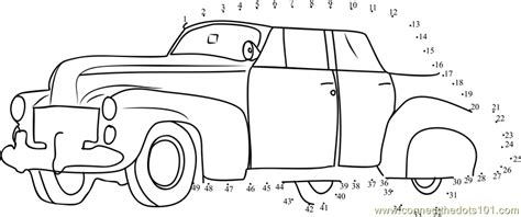 printable dot to dot cars classic car dot to dot printable worksheet connect the dots