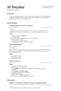 travel consultant resume sles visualcv resume sles