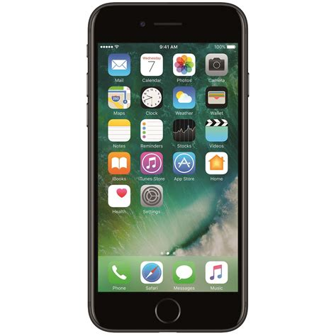 mobil telefon telefon mobil apple iphone 7 128gb black emag ro