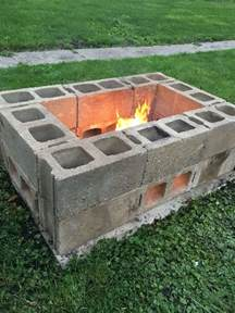 Cinder Block Firepit The 25 Best Ideas About Cinder Block Pit On Cinder Block Bench Cinder Block