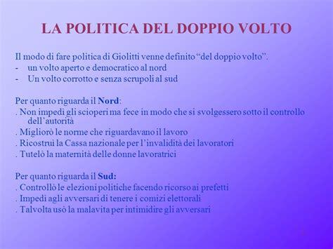 la politica interna di giolitti il sistema politico di giolitti ppt scaricare