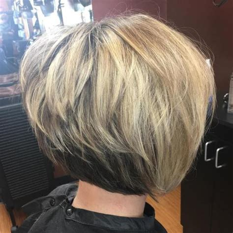 inverted bob hairstyle pictures on plus models trendy inverted bob haircut