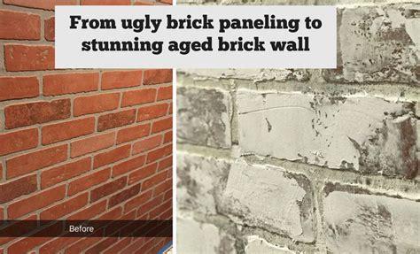 painted brick backsplash possible faux brick panels 25 best ideas about faux brick panels on pinterest faux
