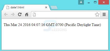 Javascript Date Universal Format | javascript date splessons