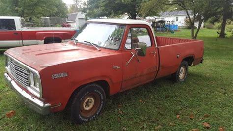 dodge mitsubishi truck 1977 dodge truck d100 mitsubishi diesel engine ram 1500 6dr5